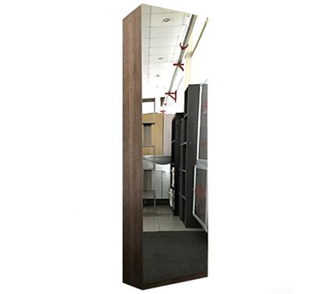 ארון נעליים בעל נפח אחסון ענק עם דלת מראת חזית לכל אורך הארון HOMAX - תמונה 7