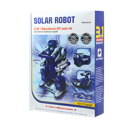 רובוט סולארי בעל 3 מצבי הרכבה