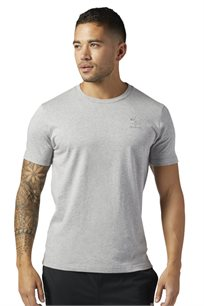חולצת אופנתית לגבר REEBOK בצבע אפור