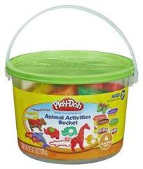 גן החיות שלי! דלי עם חיות מערכת בצק של Play-Doh מבית Hasbro