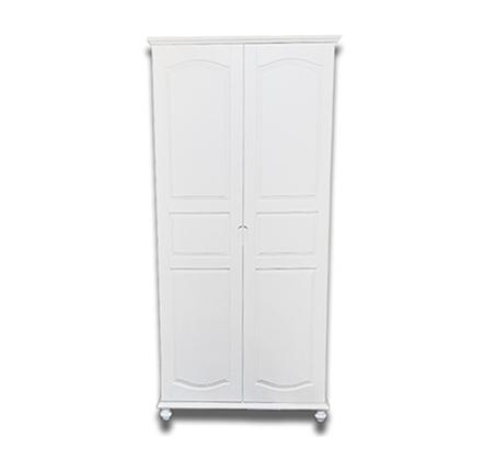 ארון מדפים 2 דלתות מעץ מלא דגם רון
