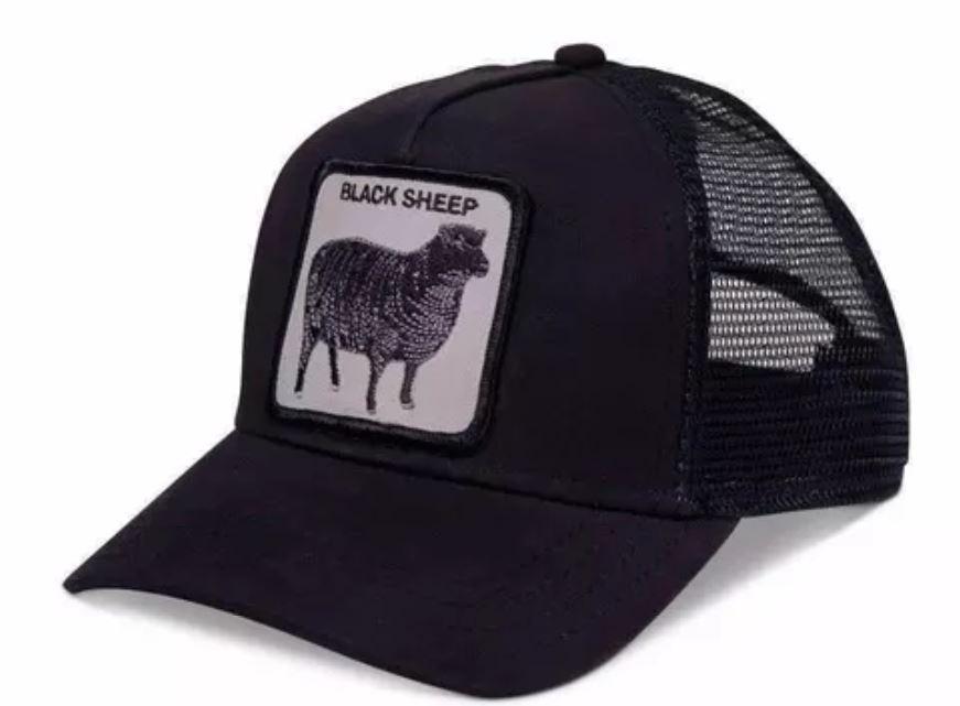 Goorin יוניסקס// Naughty Lamb Black כובע מצחיה חיות
