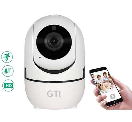 מצלמת IP אלחוטית 360 מעלות HD 1080 עם מעקב אוטומטי בעת זיהוי תנועה