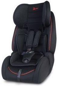 כסא בטיחות משולב בוסטר Advance עם 2 זויות ישיבה וחיבור איזופיקס - שחור
