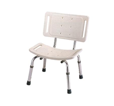 כסא לאמבט בעל כוונון טלסקופי להתאמת גובה המושב