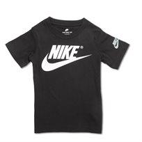 Nike ילדים- חולצת לוגו נייקי שחורה