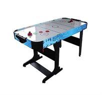 שולחן הוקי ענק מתקפל 5 פיט דגם T4011 ג'נרל פיטנס בעל רגליים מחוזקות כולל דיסקיות וזוג מגישים
