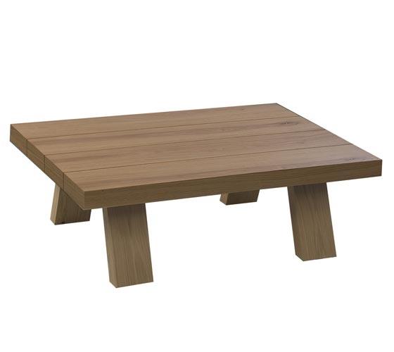 מערכת מזנון ושולחן לסלון בצבע לבן בשילוב עץ בגימור אפוקסי LEONARDO - תמונה 3