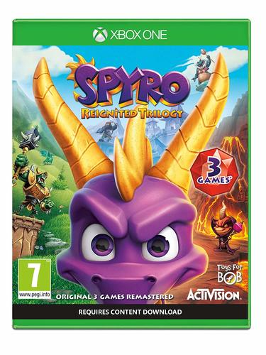 Spyro The Dragon Reignited Trilogy Xbox One אירופאי!