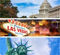 """טיול בארה""""ב-מפלי הניאגרה, וושינגטון, מנהטן, לאס וגאס וגראנד קניון החל מכ-$3703*"""