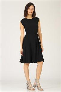 שמלה קלוש שחורה