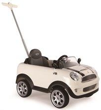 בימבה דחיפה בדמות Mini Cooper - לבן