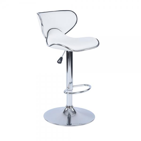 כיסא בר דגם ארנו בריפוד דמוי עור במגוון צבעים לבחירה HOMAX  - תמונה 4