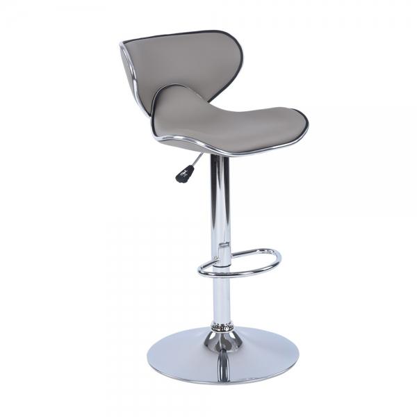 כיסא בר דגם ארנו בריפוד דמוי עור במגוון צבעים לבחירה HOMAX  - תמונה 2
