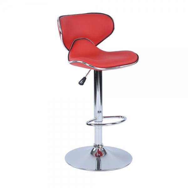 כיסא בר דגם ארנו בריפוד דמוי עור במגוון צבעים לבחירה HOMAX  - תמונה 3