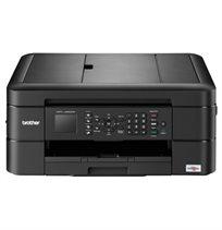 מדפסת דגם MFC-J480DW משולבת צבע, פקס, מכונת צילום, סורק צבעוני, רשת אלחוטית ודופלקס  - משלוח חינם!