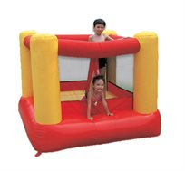 מתקן ג'ימבורי מתנפח דגם JUMP HOP הכולל מפוח ומתאים ל-3 ילדים מבית CAMPTOWN - משלוח חינם!
