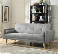 ספה תלת מושבית נפתחת למיטה במגוון צבעים לבחירה