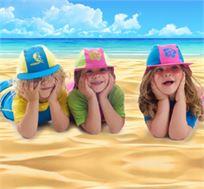 כובעי ים לילדים עם מסנני קרינה מבית SWIMFREE