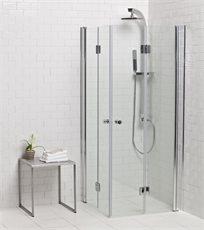 מקלחון הרמוניקה פינתי אקורדיון 80/80 הכי זול בארץ