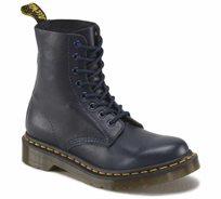 נעלי נשים Dr. Martens בעלות טכנולוגיית סוליית האוויר דגם  Pascal 8 Eye Boot Dress Blues