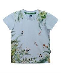 חולצת סינגל לייקרה עם הדפס