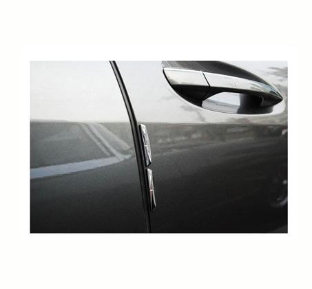 מגניב ביותר הסוף לשריטות! סט מגיני דלת/מראות לרכב המכיל 4 מדבקות סיליקון ב-2 KS-62