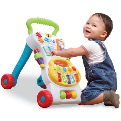 הליכון לתינוק מוזיקאלי דובר עברית עם מרכז פעילות - תמונה 2