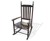 כסא נדנדה מעץ בעיצוב רטרו MLM