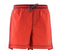 בגד ים Napapijri לגברים בצבע אדום