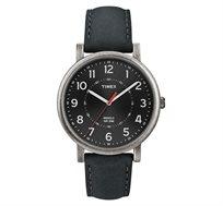 שעון יד אופנתי לגבר מבית TIMEX העולמית - תאורת INDIGLO בלחיצת כפתור