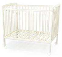 מיטת מטר לתינוק סטארלייט עם מגן אנטיבייט ו 3 מצבי גובה - שמנת
