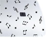 Babymitmit סדין לעריסה ולאמבטיית עגלה- Happy Music Collection