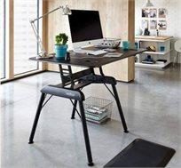 שולחן כתיבה בעל משטח עבודה גדול המאפשר להכיל מערכת דו מסכית VARIDESK  - משלוח חינם!
