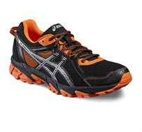 נעלי ספורט לגבר ג'ל סונומה 2 - שחור/כתום