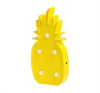 מנורת לד אננס בצבע צהוב