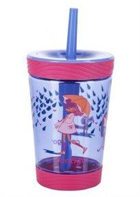 CONTIGO// כוס עם קש מטריה