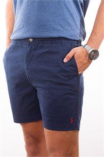 מכנסיים קצרים לגבר POLO RALPH LAUREN גזרת CLASSIC FIT בצבע כחול