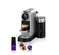 מכונת קפה Citiz & Milk בצבע כסף דגם C123 IL Silver