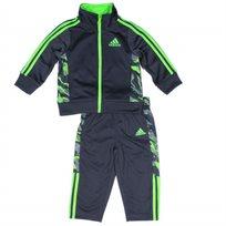 Adidas חליפה (3 חודשים - 7 שנים) - אפור צבאי