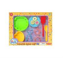 ערכת אפיה לילדים המכילה 12 חלקי משחק - משלוח חינם!