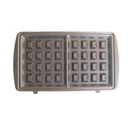 מכשיר ביתי להכנת וופל בלגי CRYSTAL דגם WM295 הספק 750W בציפוי מיוחד וקל לניקוי - משלוח חינם - תמונה 3