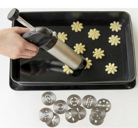 מכשיר להכנת עוגיות עשוי נירוסטה FIX