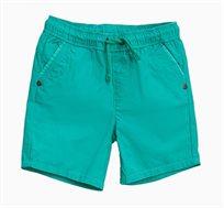 מכנסי ברמודה קצרים לתינוקות וילדים בצבע ירוק