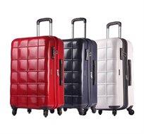 """מזוודה קשיחה ECHOLAC דגם SQUARE """"24 - צבע לבחירה"""