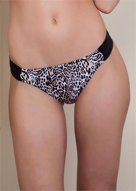 Leopard תחתון בגד ים מנומר