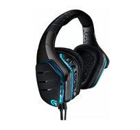 אוזניות גיימרים מקצועיות + מיקרופון Logitech G633