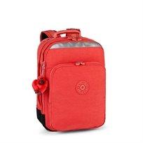 תיק גב עם תא הגנה ללפטופ COLLEGE - Happy Red Cאדום שמח