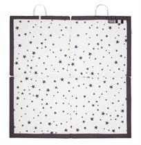 משטח פעילות 4 חלקים מתקפל מסדרת הכוכבים שחור/לבן