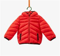 מעיל PADDED JACKET OVS מרופד לפעוטות - אדום